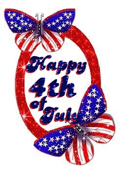 Happy 4th of July! ~  | Glitter Graphics: Fourth of July