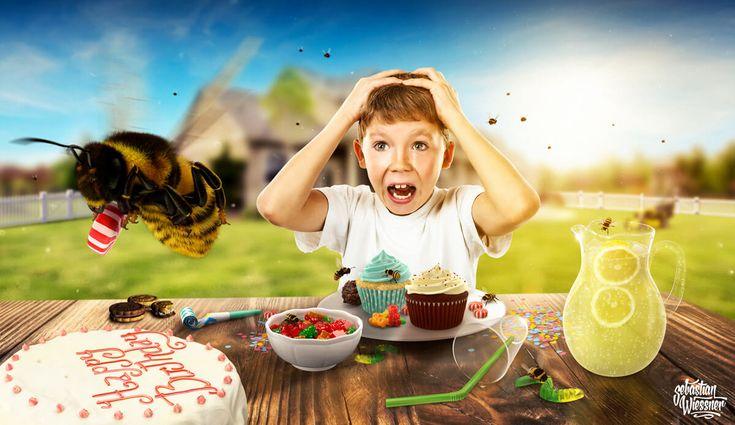 Happy Birthday - a nightmare  idea & realisation: www.sebastianwiessner.de