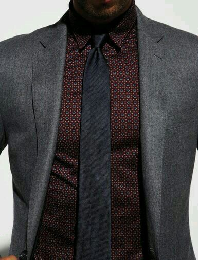 A well-tied tie is the first serious step in life.