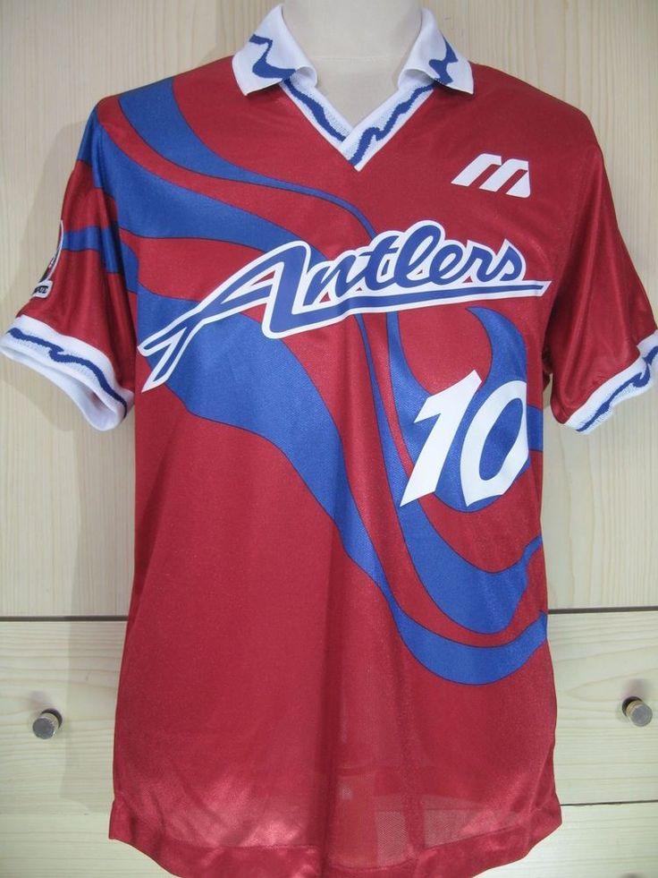 Kashima Antlers Zico 93 1994 Japan Vintage Player Issue Brazil J League Shirt L | eBay