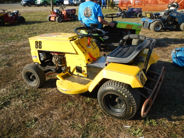 Mtd Mud Mower : Suped up lawn mower for racing with the virginia