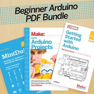 Get started learning Arduino with our three-ebook PDF bundle of basics.