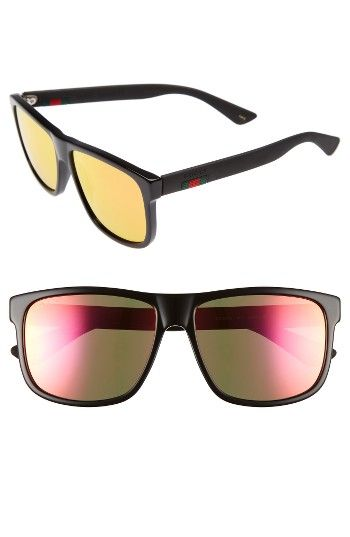 Free shipping and returns on Gucci 58mm Polarized Sunglasses at Nordstrom.com. Translucent, club-ready frames define bold Italian sunglasses fitted with polarized lenses for color-true clarity.