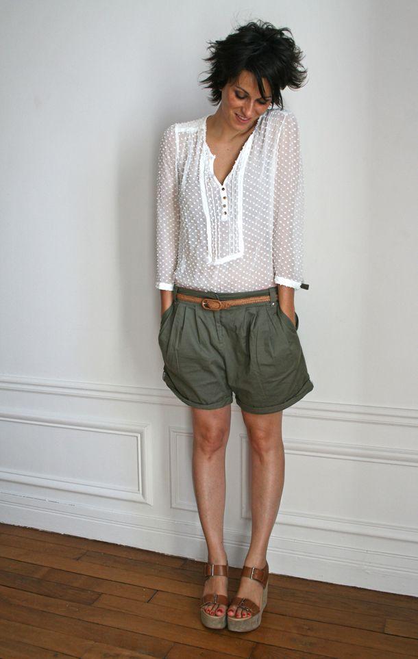 blouse_plumetis_mango_short_topshop_sandales_claudie_pierlot_LD