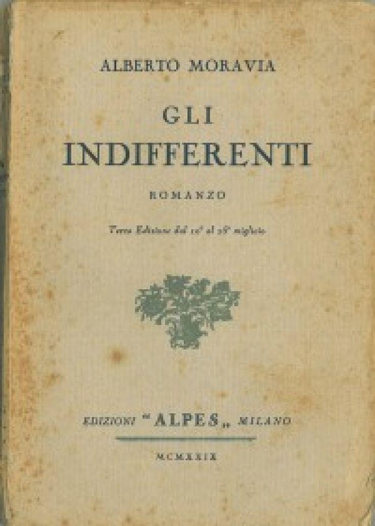 """""""Gli indifferenti"""" di Alberto Moravia"""