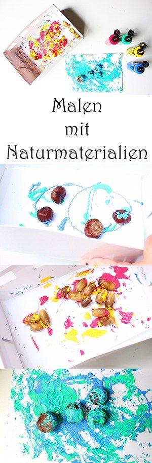4 Ideen zum Malen im Herbst mit Kindern+ Video
