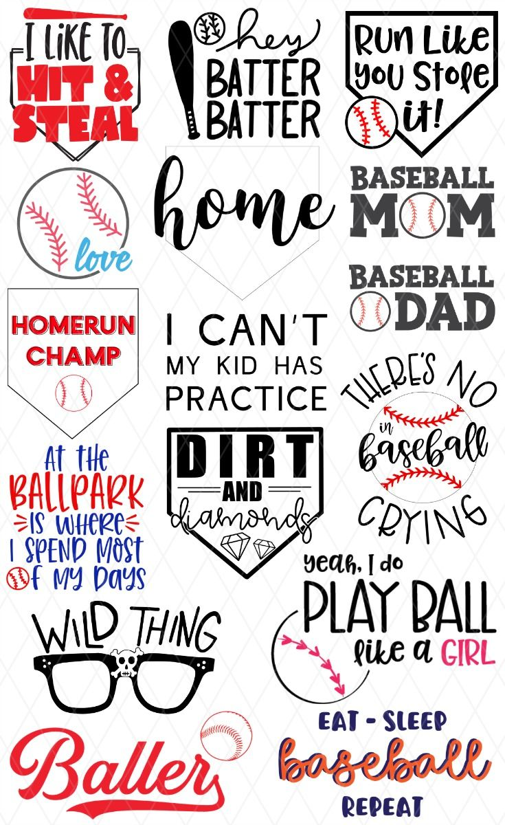 15 Free Baseball Svg Files The Kingston Home In 2020 Baseball Svg Softball Svg Baseball