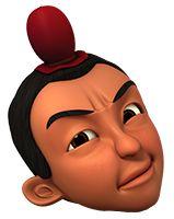 Gambar Kepala Karakter Upin Ipin Format Png