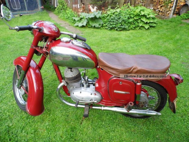 Jawa  355 1957 Vintage, Classic and Old Bikes photo