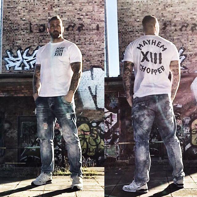 Kevin Kuske Mayhem Chopper Shirt W S Get Your Badass Clothing Www Men Of Mayhem Com Badass Mayhem Cloth Badass Outfit Chopper Shirt Fitness Model