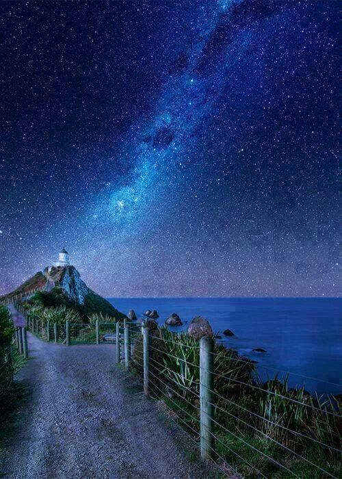 Milky Way view from New Zealand
