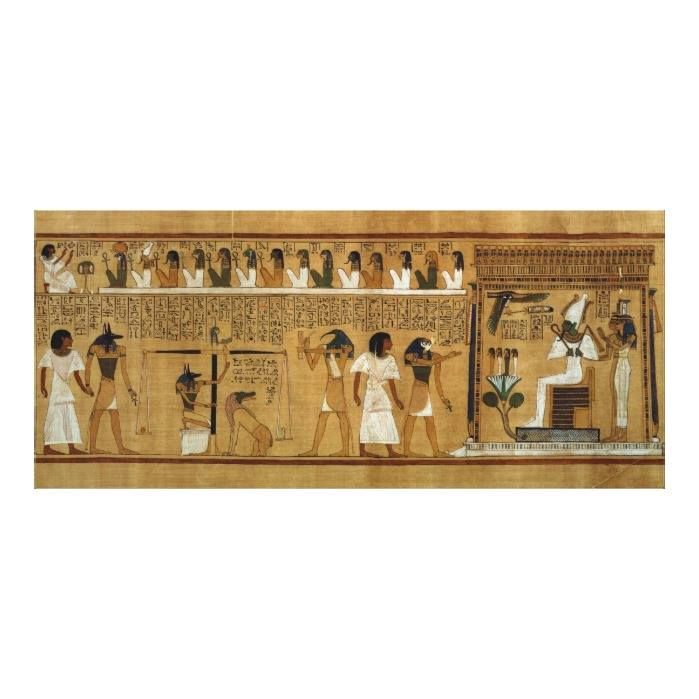 Customizable #13Th #19Th #Above #Afterlife #Amemet #Ammit #Ancient #Anubis #British #Coeur #Crt #Dynasty #Egypt #Egyptian #Fourteen #Gods #Horos #Horus #Hunefer #Isis #Judges #London #Maat #Museum #Nephtys #Osiris #Painted #Papyrus #Personnages #Pesee #Scales #Sites #Thoth #Throne The Weighing of the Heart against Maat's Feather Canvas Print available WorldWide on http://bit.ly/2itEfHz