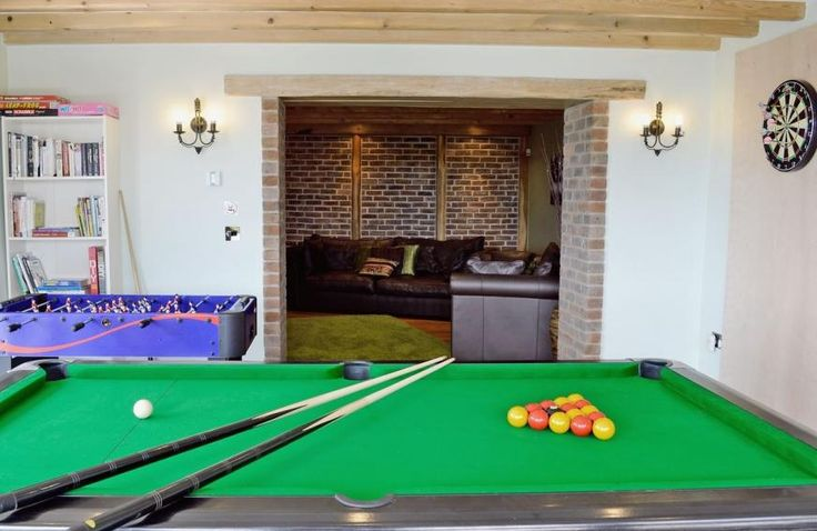 Games room | Ty Cerrig Farmhouse, St Clears, nr. Laugharne