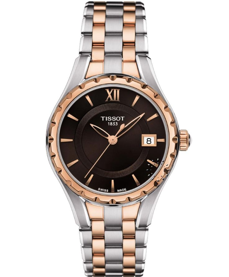 TISSOT Classic Τ072 Ladies Two Tone Stainless Steel Bracelet Η τιμή μας: 399€ http://www.oroloi.gr/product_info.php?products_id=35733