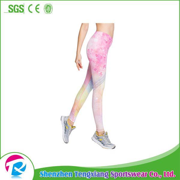 Slimming Waist Yoga Pants Wholesale Body Shaper sports wear High quality printed gym leggings for women