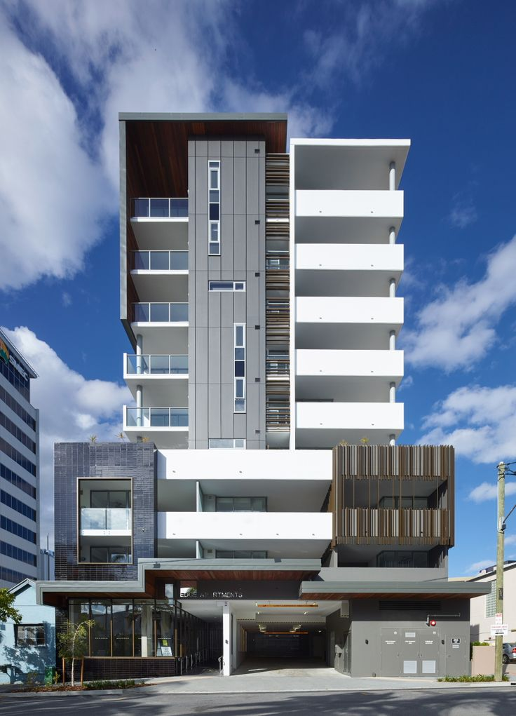 Edge apartments multi residential boutique for Architecture firms brisbane