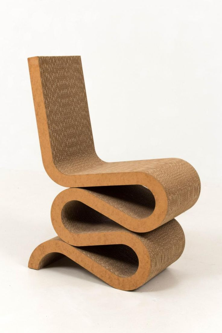 70s chairs is frank o gehry s cardboard chair wiggle side chair - Wiggle Side Chair By Frank Gehry For Vitra 1992