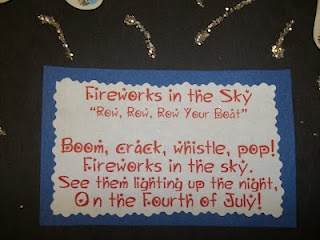Fireworks Song for our Handprint Fireworks we made at school on Thursday!