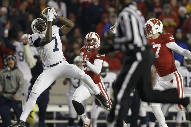 PENN STATE – FOOTBALL 2013 – Wide Receivers: Top Players: Geno Lewis