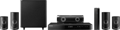 Samsung - 5 Series 1000W 5.1-Ch. 3D / Smart Blu-ray Home Theater System - Black
