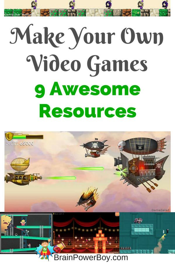 Homeschool Unit Study: Make Your Own Video Game