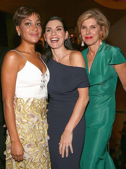 Star Tracks: Tuesday, September 27, 2016 | GOOD TIMES | Also at the opera on Monday, The Good Wife stars Cush Jumbo, Julianna Margulies and Christine Baranski.