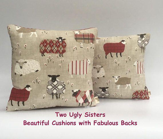Christmas Cushion Decorative PillowAnimal SheepCushion Pillow
