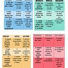 Directions: Behavior Bingo Brag Boards are a great way to reinforce positive behaviors! These boards encourage a student to be aware of the behavi...