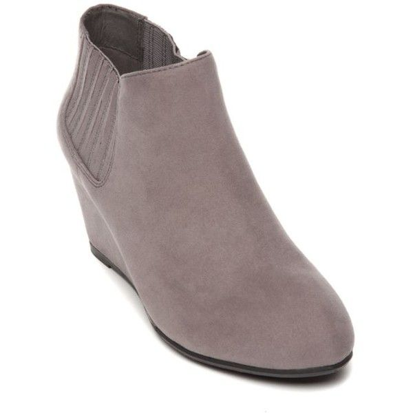 New Directions® Charlotte Greg Wedge Booties