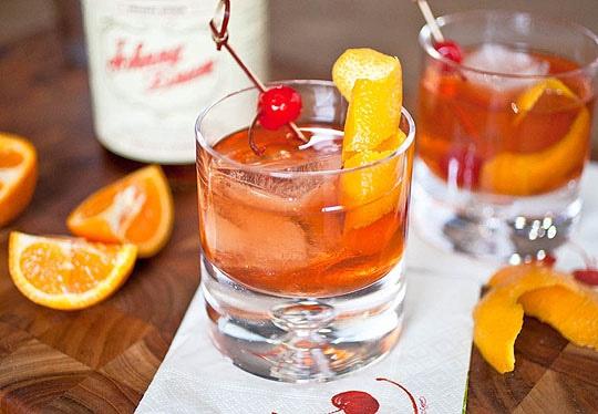 The Steadfast: Maraschino Liqueurs, Whiskey Cocktails, Peychaud Bitterness, Holidays Bar, Cherries, Drinks, Bitterness Orange, 13 Whiskey, Cocktails Recipes