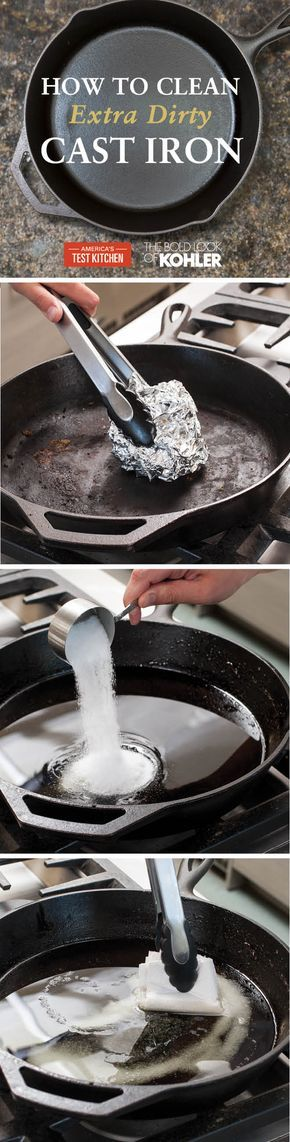 Check out our guide to cleaning and caring for cast iron.