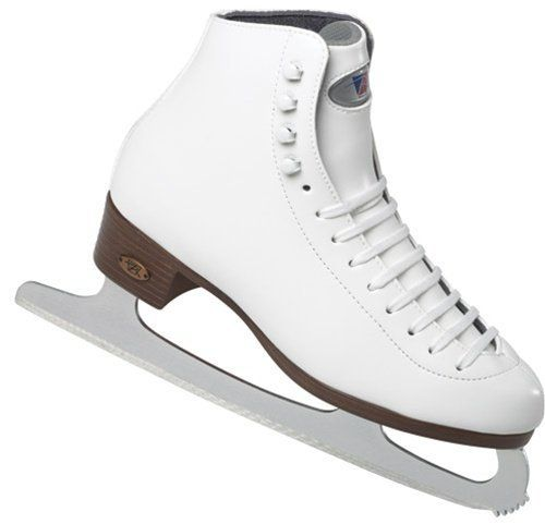 Riedell Ice skates 115 RS Womens White Set - Size 7.5 by Riedell. $98.98. The best thing about figure skating is that it's just as fun for beginners as world champs. But no matter what level, make sure to put your best foot (or boot!) forward when you step out on the ice. Trust the 115 RS' split comfort tongue and flexible Dri-Lex lining to give you the most stylish comfort and support at a great value. Dual quarter reinforcements stabilize unsteady ankles. Features: M...