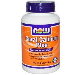 Now Foods, Coral Calcium Plus, 100 Veggie Caps, Diet Suplements 蛇