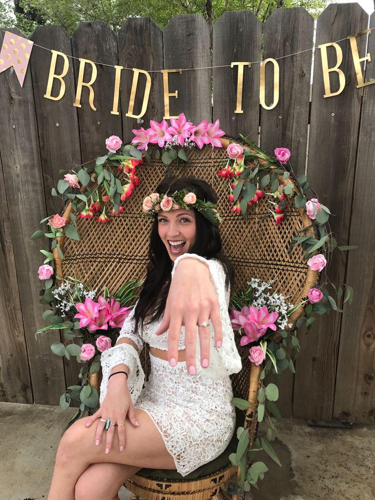 Boho bridal shower