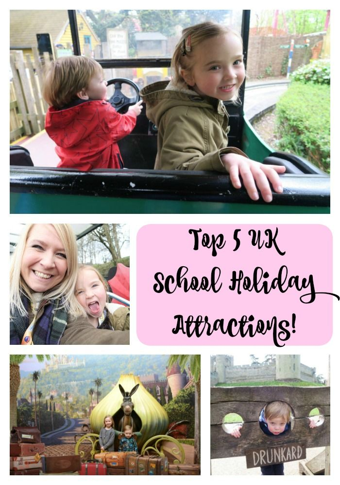 Here are the Top 5 UK School Holiday Attractions and Theme Parks as judged by my…