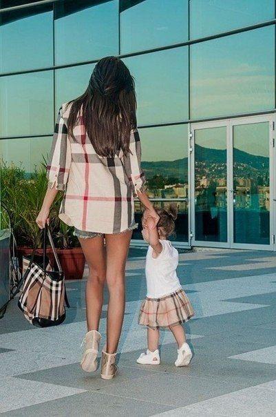 14 Tiernas mamás vestidas igual que sus pequeñas hijas