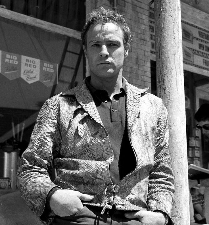 """Marlon Brando en """"Piel de Serpiente"""" (The Fugitive Kind), 1960"""