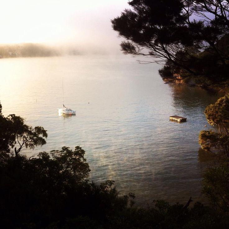 Inspiration #Sunrise #MistyMorning #Auckland #AucklandNZ #NZ #PureNZ #DestinationNZ #NewZealand #CheriseThomsonSculpture