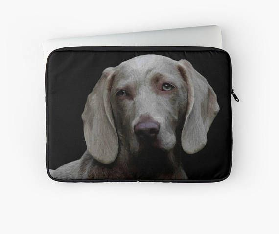 Personalized anumal portrait on Laptop case / Ipad case
