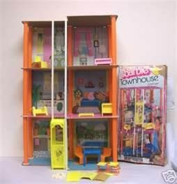 barbie townhouse 1970s