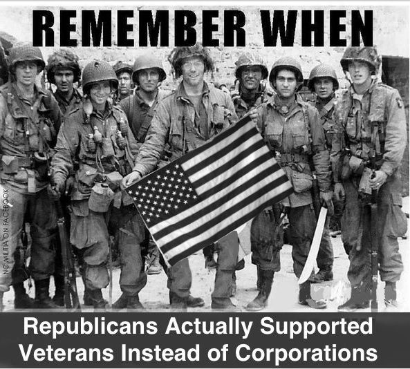 NOT One REPUBLICAN Voted for the Veterans Job Act, NOT ONE!! UNPATRIOTIC Teabagger Republicans!!!!!
