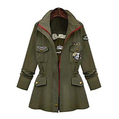 vrouwen zip trenchcoat - EUR € 31.79