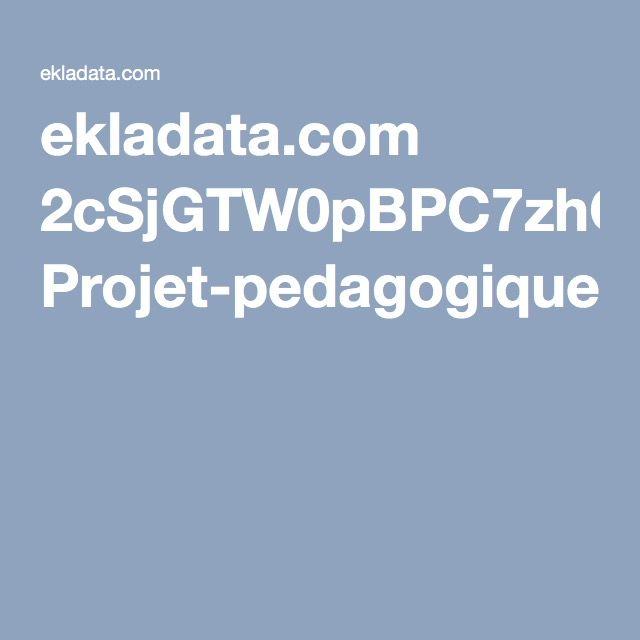 ekladata.com 2cSjGTW0pBPC7zhQfRWjW6kOylc Projet-pedagogique-CP.pdf