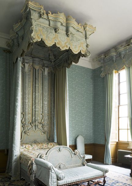 Belton House ~ Blue U0026 White Mix In This Blue Bedroom Which Was Used In Colin