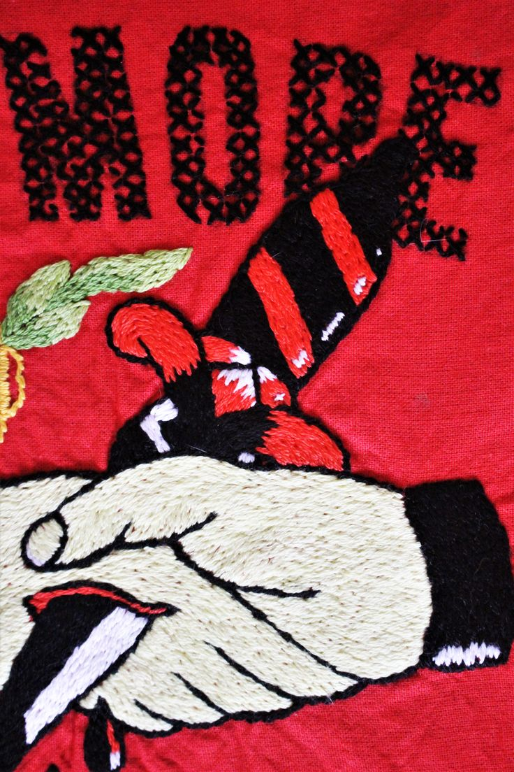 #oldschool #tattoo #design, #embroidery, #handmade, #fake #friends