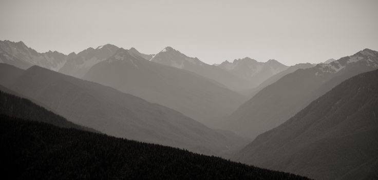 Mountains and Valleys - Olympic National Park | by Ken Pick