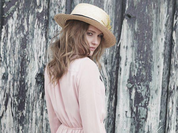 Misty Rose dress & Mimoki Canotier