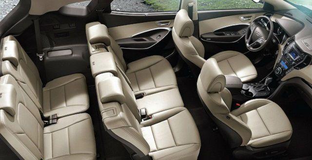 2016 Hyundai Santa Fe Inside