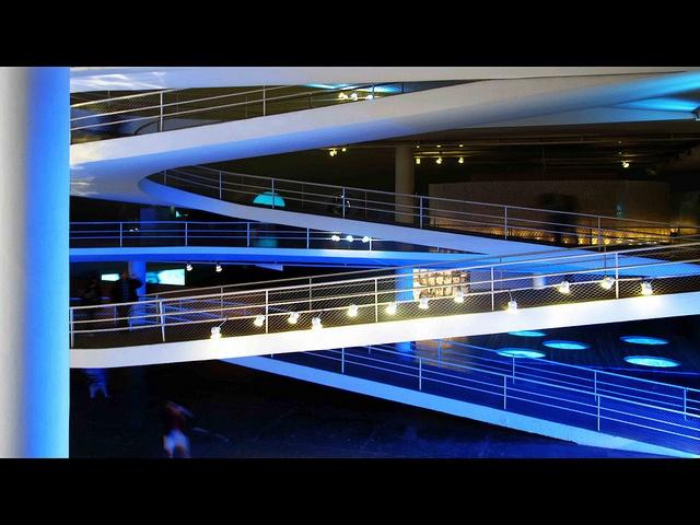 Oca interiors designed by Oscar Niemeyer. @Ibirapuera Park Sao Paulo