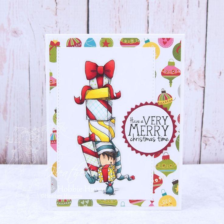 401 best elves images on pinterest heathers hobbie haven tiddly inks elf delivery service card m4hsunfo Gallery